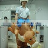inflatable bull costume (cow,moving,party,event)