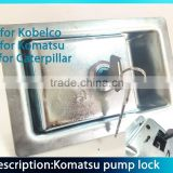 door lock hydraulic pump lock excavator hydraulic pump lock                                                                         Quality Choice