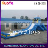 inflatable hippo slide giant slider, inflatable longest slide, big water slide with factory price