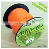 Sunbang Factory Wholesale PE Fishing Line Braided Tournament Grade Super Power Pro