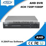 shenzhen top factory 4 channel ahd dvr 1080p with hdmi input