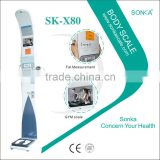 Hot Sales SK-X80-033 LCD Touch Screen Multi-functional Ultrasonic Weighing Scale (Omron inside)