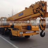 used kato crane 25t, 50t hydraulic diesel truck crane hot selling in Shanghai orignal place japan made