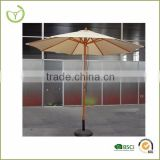 Garden umbrella dining table umbrella-9' wooden patio umbrella