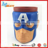 Top Quality America Captain Double Wall 650ML Plastic Cup