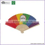 Chinese Personalized Bamboo Paper Hand Held Folding Fans                                                                         Quality Choice