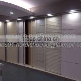 factory wholesale lastest bedroom wooden wardrobe closet sliding door designs