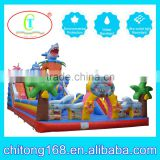 giant outdoor playground inflatable bouncy castle for sale                                                                         Quality Choice
