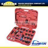 CALIBRE 28PC Cooling System Leakage Tester and Vacuum-type Coolant Refilling Kit /cooling system pressure tester