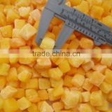 IQF Frozen yellow peach dices