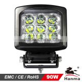 2014 NEW!9X10W 90W LED led truck work light, 12/24V on excavator,farming,trailer,Truck,Mining,Forklifts,IP68