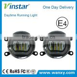 For Renault Fluence fog lamp with drl , super bright drl for renault clio fog lamp fog light                                                                         Quality Choice