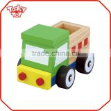 Promotional Baby Play Small Car Wooden Toy Truck