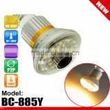 25pcs warm/yellow LED light 5W bulb WiFi/AP remote control bulb camera