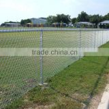 anping galvanized chain link fence(professional manufacture) for stadium fence/playground/forest protecting