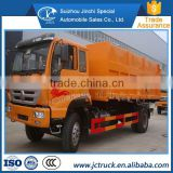 The hydraulic hospital sino howo 4x2 even joint dump compression garbage truck Preferential price