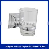 2016 New design bathroom equipment wall mounted cup and tumbler holder/single tumbler holder