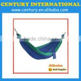 Single and double hammock camping hammock Parachute hammock in cotton and nylon polyester