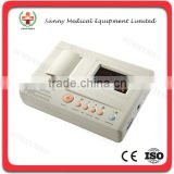 SY-H005 China Guangzhou Sunnymed Digital three channel hospital ECG machine price ECG paper