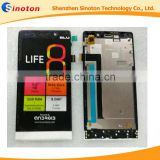 "Original Blu LIFE 8 5"" 720 x 1280 SmartPhone LCD IPS Display +Touch screen Digitizer Glass Sensor with frame"