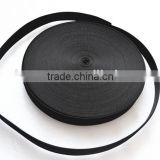 "Black 1.5"" bag polyester webbing tape wholesale"
