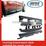 INquiry about AUTO SPORT SIDE STEP FOR LAND ROVER RANGE ROVER SPORT RUNNING BOARD