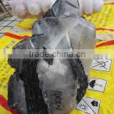 INquiry about large natural rock raw black tourmaline specimen for decoration
