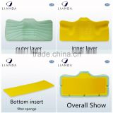 Best selling Customized Logo good quality cooling gel memory foam pillow Chinese imports wholesale adult
