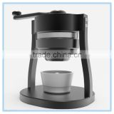 High end hand coffee mill grinder with CNC Process Amazon wholesale conical burr manual coffee grinder