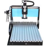 factory prices Olive jade Guanyin Buddha carved 1500w spindle motor 3040 4 axis hot sale mini cnc router for wood