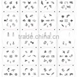 2013 heat sale round nail art image plate stamping nail art products with 120 different designs