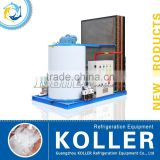 Guangzhou Koller Commercial Flake Ice Maker Machine with energy saving for fishing vessel
