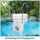 Factory best plastic durable swimming pool equipment swimming pool filter with filter bag and pump