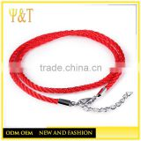 Red strap braided good luck bracelet, lucky bracelet, fashion good luck jewelry (AC-010)