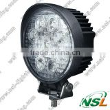 4 inch 27W LED Working Light Round Flood Beam Motorcycle Tractor Truck Trailer SUV JEEP Offroads Boat Work light 12V 24V