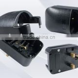 Top selling products in alibaba Euro Germany Schuko plug to UK plug converter adapter with fuse 13A