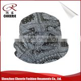 Wholesale alibaba active printing 100% cotton custom bucket hat
