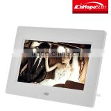 7 inch battery operated digital picture/photo frame for auto play video ad player