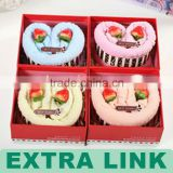 Fashion hotsell flat shipping cake boxes with dividers