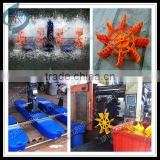 fish farming aerator air blower paddle wheel aerator for large area aquatic products farming