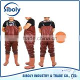 cheap waterproof pvc chest high fishing wader used as Aquaculture Equipment