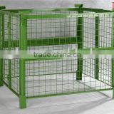 stacking pallet cage,wire cage