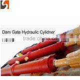 big bore long stroke high pressure hydraulic cylinder with chromed rod for Dam gate made in china