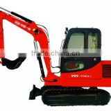China mini crawler type excavator, high efficiency and its internationally renowned hydraulic components, on sale!