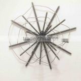 Wrought Iron Wall Deco Designed Decorative Metal Wire Wall Art
