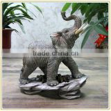 Customized garden animal mascot resin elephant statues for sale