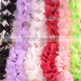 handmade decoration chiffon flower for home interior or wedding decoration or clothing
