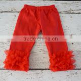 baby clothes new design children summer ruffle cotton trousers ruffles shorts Kid lovely cotton shorts high quality cotton pants