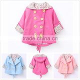 Wholesale autumn spring fancy baby girls frock design with jacket M6071301