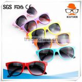 High quality branded assorted color cool kids sunglasses